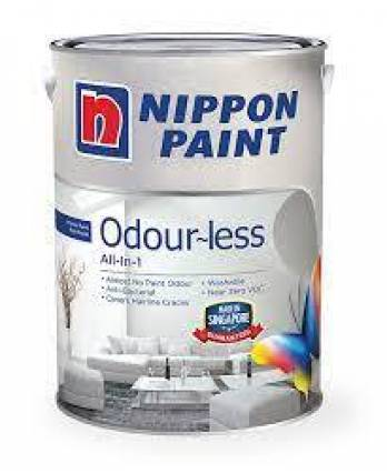 Nippon Odour-less All-in-1 Interior Paint 5 Litre